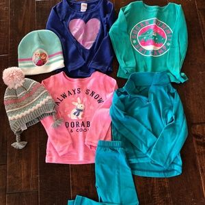 Girls Winter Ski Essentials: Size 4